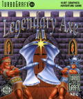 Legendary Axe II TurboGrafx-16 Front Cover