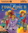 Final Zone II TurboGrafx CD Front Cover