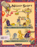 Night Shift Amiga Front Cover