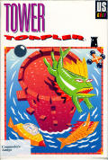 Tower Toppler Amiga Front Cover
