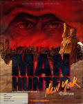 Manhunter: New York Amiga Front Cover