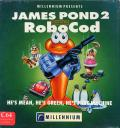 James Pond 2: Codename: RoboCod Commodore 64 Front Cover