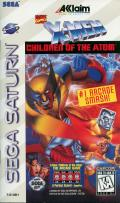 X-Men: Children of the Atom SEGA Saturn Front Cover