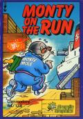 Monty on the Run Commodore 64 Front Cover