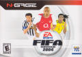 FIFA Soccer 2004 N-Gage Front Cover