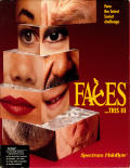 Faces ...tris III Amiga Front Cover