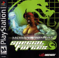 Mortal Kombat: Special Forces PlayStation Front Cover