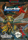 Insector X Genesis Front Cover