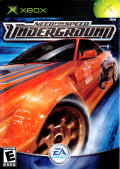 Need for Speed: Underground Xbox Front Cover