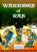 Warriors of Ras Atari 8-bit Front Cover