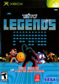 Taito Legends Xbox Front Cover