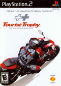 Tourist Trophy: The Real Riding Simulator PlayStation 2 Front Cover
