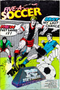 Five-a-Side Soccer PC Booter Front Cover