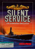 Silent Service Atari 8-bit Front Cover