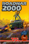 Roadwar 2000 Commodore 64 Front Cover