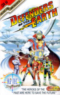 Defenders of the Earth Commodore 64 Front Cover