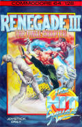 Renegade III: The Final Chapter Commodore 64 Front Cover