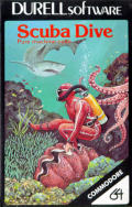 Scuba Dive Commodore 64 Front Cover