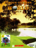 Famous Courses of the World: Vol. II Commodore 64 Front Cover