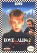 Home Alone 2: Lost in New York NES Front Cover