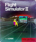 Flight Simulator II Amiga Front Cover