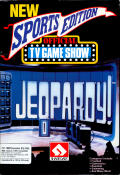Jeopardy! New Sports Edition Commodore 64 Front Cover