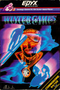 Winter Games Commodore 64 Front Cover