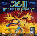 Ys III: Wanderers from Ys TurboGrafx CD Front Cover