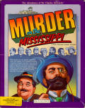 Murder on the Mississippi Commodore 64 Front Cover