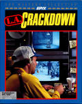 L.A. Crackdown Commodore 64 Front Cover