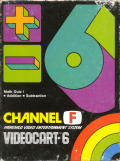 Videocart-6: Math Quiz I Channel F Front Cover
