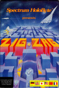 Zig-Zag Commodore 64 Front Cover