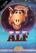 ALF: The First Adventure Commodore 64 Front Cover