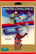 Winter Challenge: World Class Competition Commodore 64 Front Cover