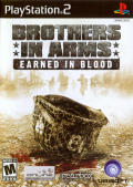Brothers in Arms: Earned in Blood PlayStation 2 Front Cover