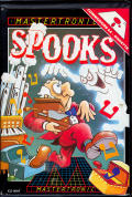 Spooks Commodore 64 Front Cover