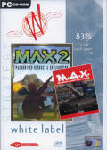 M.A.X. & M.A.X. 2 DOS Front Cover