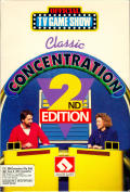 Classic Concentration: 2nd Edition Commodore 64 Front Cover