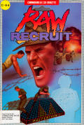 Raw Recruit Commodore 64 Front Cover