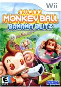 Super Monkey Ball: Banana Blitz Wii Front Cover