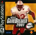 NCAA GameBreaker 2001 PlayStation Front Cover