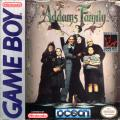 The Addams Family Game Boy Front Cover