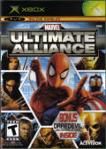 Marvel Ultimate Alliance Xbox Front Cover