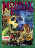 The Secret of Monkey Island SEGA CD Front Cover