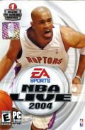 NBA Live 2004 Windows Front Cover