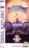 Mass Destruction SEGA Saturn Front Cover