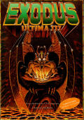 Exodus: Ultima III Commodore 64 Front Cover