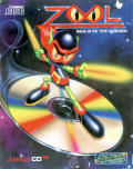 Zool Amiga CD32 Front Cover