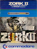 Zork II: The Wizard of Frobozz Commodore 64 Front Cover