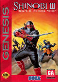 Shinobi III: Return of the Ninja Master Genesis Front Cover